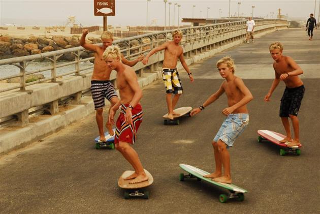 Skate surf Long boards