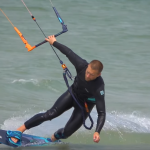 toe side kitesurf